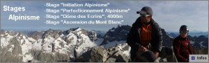 stage alpinisme guide montagne